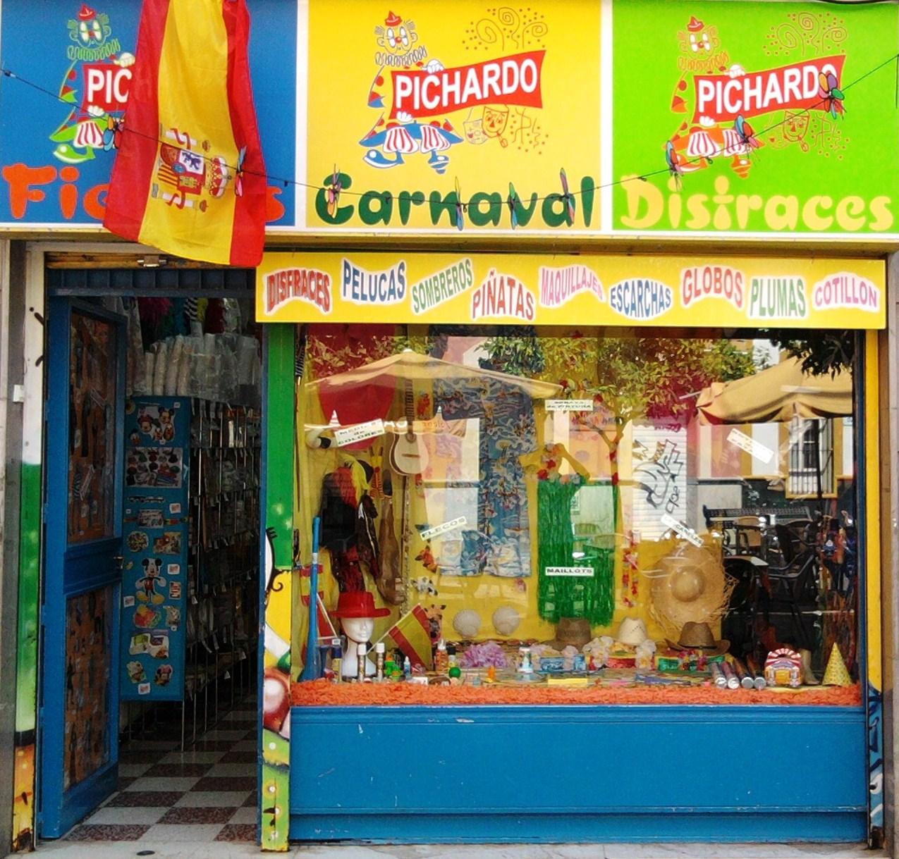 Tu lugar para el disfraz disfraces pichardo - Articulos carnaval ...
